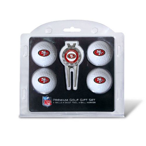 nfl-san-fransisco-49ers-4-golf-balls-and-divot-tool