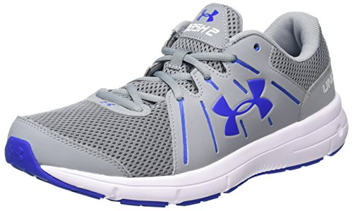 Under Armour Ua Dash Rn 2, Chaussures de Running Homme Gris (Steel 036)