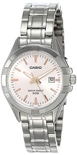 Casio Analog Pink Dial Women's Watch-LTP-1308D-4AVDF (A1510)