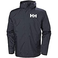 Helly Hansen Active 2 Chaqueta Impermeable con Capucha, Hombre, Navy, M