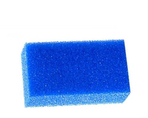 Spugna filtrante Filtro Azzurro - Disponibile a porosità grossa, media o fine, per filtro acquario (grossa (10))