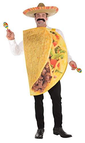 Amscan Erwachsenenkostüm - Taco Mann Kostüm