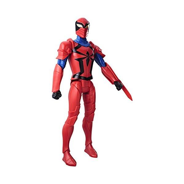 Hasbro Marvel Spider-Man Titan Hero Series Scarlet Spider Figure 1pieza(s) Multicolor Niño - Figuras de Juguete para… 2