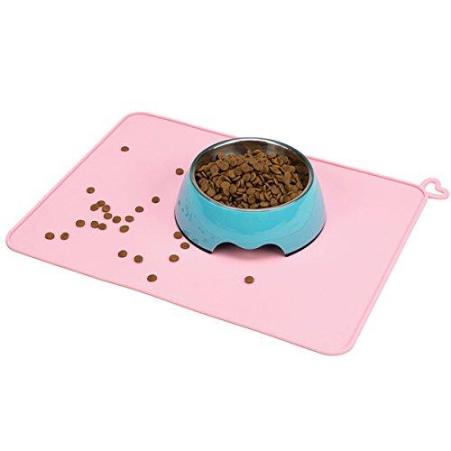 bairicao Aufhängen Silikon Hund Cat Napfunterlage Food Pad Antihaftbeschichtung Wasser Kissen Wasserdicht