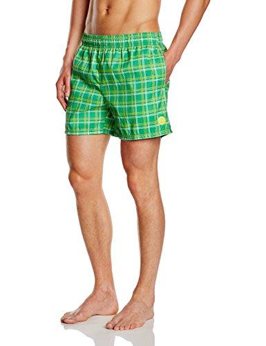 CMP-F. LLI Campagnolo Short de bain pour homme Vert - M.Green-B.Co-Lime Green