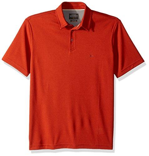 Quiksilver Herren Water Polo Knit Shirt Polo Hemd - rot - (Quiksilver Herren Polo)