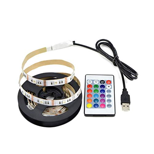 FDBF LED TV Backlight Kit RGB Strip Light Strip with Remote Controller Yellow