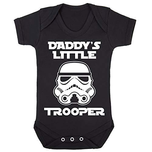 r Daddy's Little Stormtrooper Babygrow Babysuit Short Sleeve ()