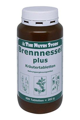 Brennnessel plus Kräutertabletten 300 Stk. - mit Brennesselkraut, Schachtelhalm, und Birkenblätter