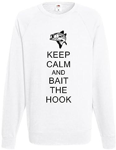 Rutmerch Herren Sweatshirt schwarz schwarz One size Gr. Medium, weiß
