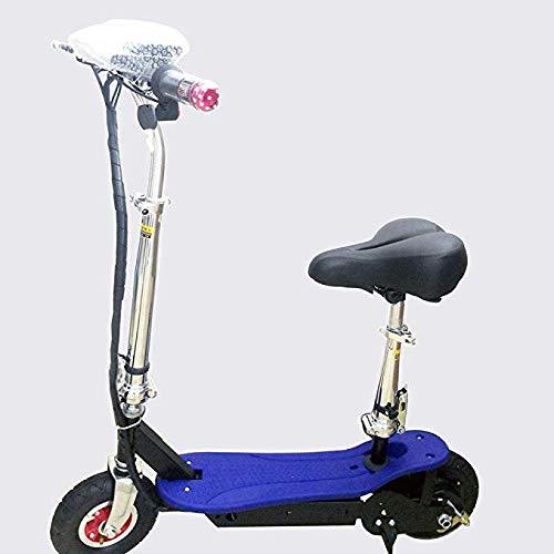 Joy Mini Elektroroller Erwachsene Tragbare Elektrische Faltauto Mit Sitz 11 Zoll 36V Lithium-Batterie, LED, 2 Räder, Höchstgeschwindigkeit 30 Km Für Den Pendelverkehr