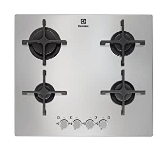 electrolux egt6342nox plaques de cuisson gaz inox gros lectrom nager. Black Bedroom Furniture Sets. Home Design Ideas