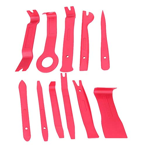 alwayswe 11Auto DIY Auto Pry Reparatur Werkzeug Kit Radio Panel Interior Tür Clip Panel Pry Tool Trim Armaturenbrett Entfernung Opening Tool Set