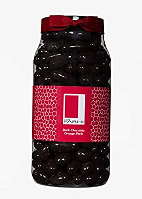 Rita Farhi Dark Chocolate Almonds Jar, 770 g