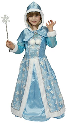 nder Mädchen Schneekönigin Kostüm Gr.140-152 (Schnee Königin Prinzessin Kleid Kostüme)