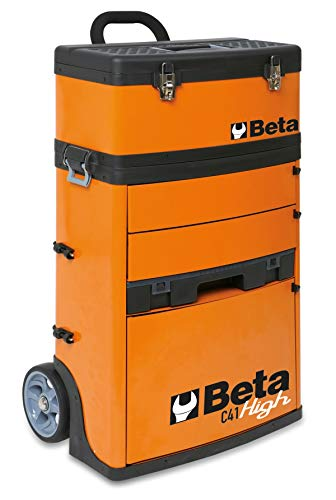 Beta trolley portautensili professionale 2 moduli separabili officina c41h high