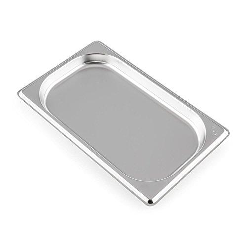 Klarstein GN Récipient gastronomique pour le Klarstein Steakreaktor 2.0 Format compact Facile à manipuler Facile à nettoyer Va au lave-vaisselle Inox