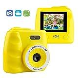 LHR Kinder Digitalkamera Kamera, 2,0 Zoll HD-Kinderkamera Zeitgesteuertes Video-Aufnahmespiel Musik MP3