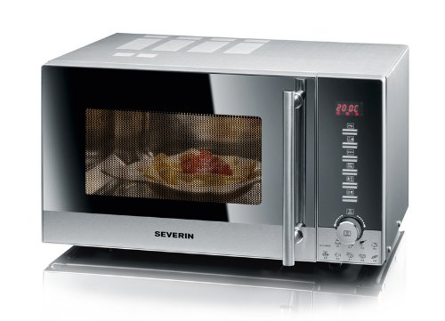 Severin 7870 Micro-ondes Inox Brossé 20 L 800 W
