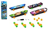 ARUNDEL SERVICES EU 4 pacchi Finger Skateboard Dito Tavola E Pezzi di Ricambio Skateboard Mini Skateboard