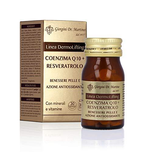 Dr. Giorgini Coenzima Q10 + Resveratrolo Pastiglie - 30 pastiglie