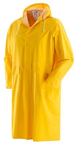 Impermeable Abrigo Amarillo L [negro]