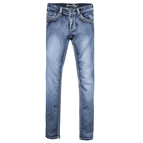 b-karo-rouge-rose-jeans-fille-bleu-indigo-medium-taille-fabricant-m