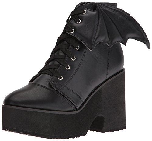 Iron FistBat Wing Boot - Stivali bassi con imbottitura leggera Donna , Nero (Nero (nero)), 38