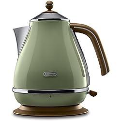 DeLonghi 40031358 - Hervidor Icona Vintage, color verde