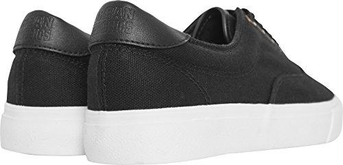 Urban Classics Unisex-Erwachsene Low Sneaker with Laces Mehrfarbig (Blk/Wht)