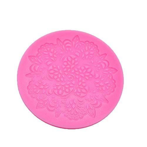 Da.Wa Cupcake Lace Mat Silikon Form Kuchen Design, Zufällige Farbe Da-mat