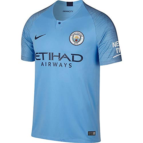 62a2f5c474486 Nike Manchester City FC Home Stadium Maillot de Football Men s