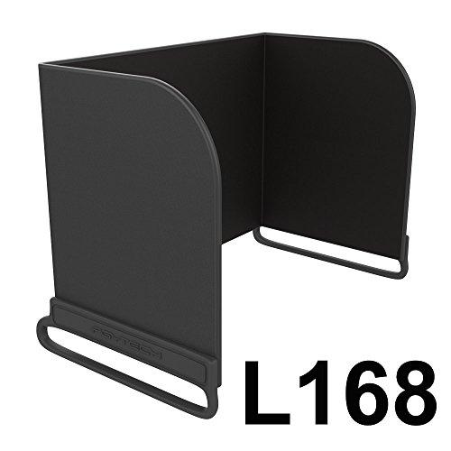 N.ORANIE PGY Fernbedienung Phone Monitor-Sonnenhaube Sonnenschutz-Abdeckungs-Schutz für DJI Mavic Pro / DJI Spark/ Phantom 3/4 / Inspire 1 / OSMO Zubehör (L168 Schwarz) (Telefon-abdeckungen Für 1 1)