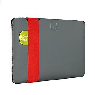 Acme Made Skinny Sleeve for Microsoft Surface 4 - XS - Grey/Poppy Orange