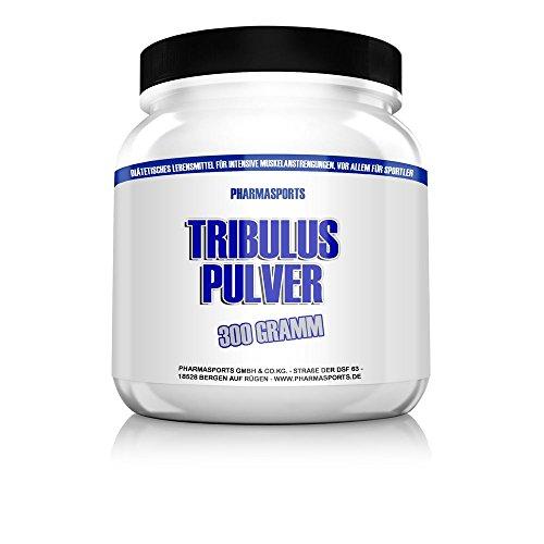 Tribulus Pulver 300g 85% Saponine (Menge mehr als 1600 Kapseln)