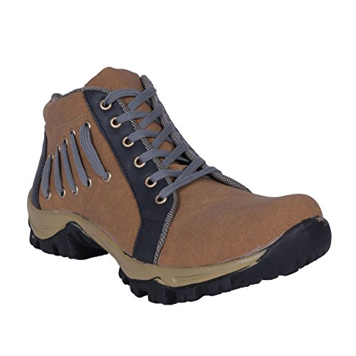 Darcey Men Woodland Style 21017-Beige Leather Outdoor Size- 8  available at amazon for Rs.499