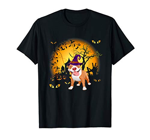 Pitbulls Für Kostüm - Lustiges Pitbull Halloween Kostüm Tee Shirt
