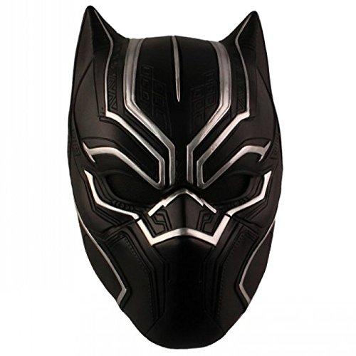 Panther Kostüm Männer - Black Panther Mask - Perfekt Für Karneval Halloween Karneval - Kostüm Für Erwachsene - Resin Unisex Einheitsgröße Für Alle,BlackPanther-29cm*18cm*19cm