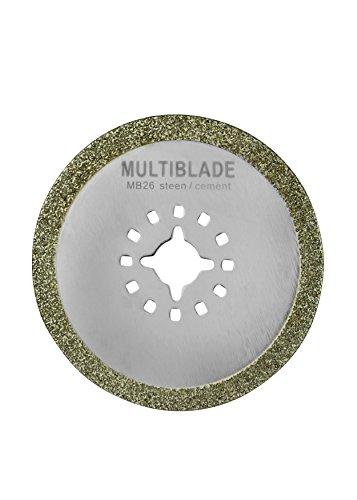 Multiblade Universeel Diamant-Sägeblatt (Stein, Beton, Zement) MB26