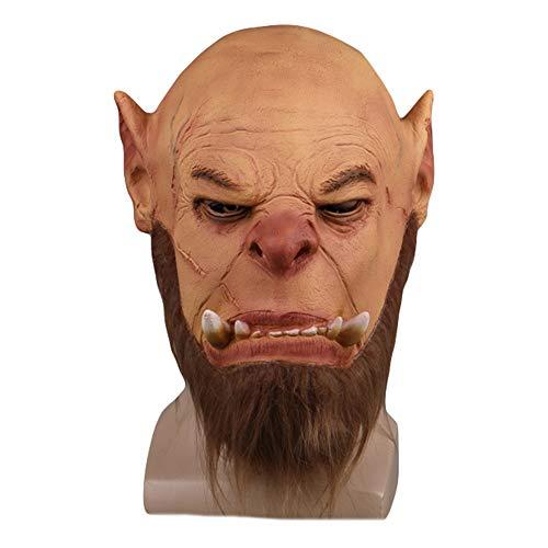 exmaske Warcraft Halloween Kostüm Masked Ball Cosplay Masken One Size für 53~70 cm,A-OneSize ()
