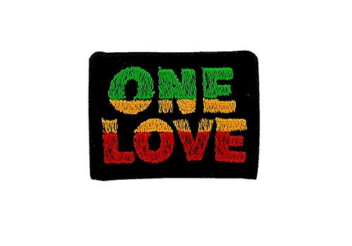 Air Force Applique (Patch Ecusson-gesticktem zum Aufbügeln Backpack Rasta Reggae Äthiopien Löwe One Love)