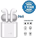 #7: Olectra Dacom Twin True Wireless Bluetooth 4.2 Airpod Earphone Suitable with All Android Or iPhone Devices (1 Year Warranty, Colour-White)