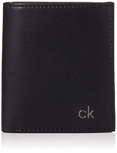 Calvin Klein Herren Smooth Ck Mini Ns 6 Cc Coin Pass Münzbörse, Schwarz (Black), 0.1x0.1x0.1 cm