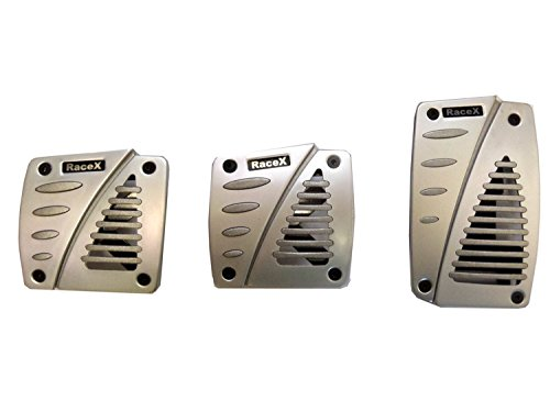 xtremeauto-brushed-silver-3-piece-alloy-racing-foot-pedal-cover-set-for-manual-transmission-car