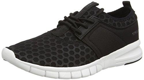 Gola Salinas, Chaussures de Running Entrainement Homme Noir (Black/white)