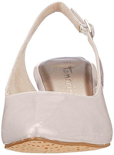 Grigio Sandali Alla Caviglia con Pearl Cinturino Donna Tamaris 29601 Patent wqP0C55R