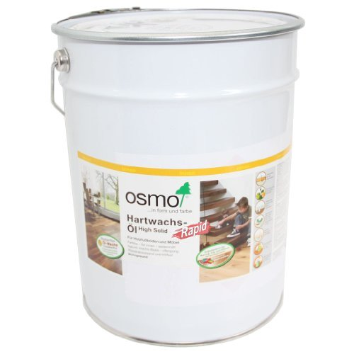 Osmo Hartwachs-Öl High Solid Rapid 3232 Farblos Seidenmatt 25 Liter Gebinde