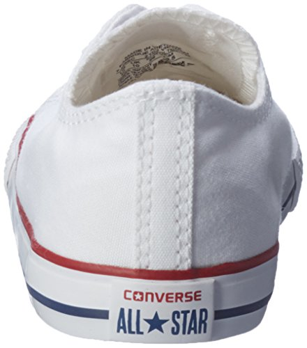Converse Chuck Taylor All Star Junior Seasonal Ox 15762 Unisex - Kinder Sneaker Optical White