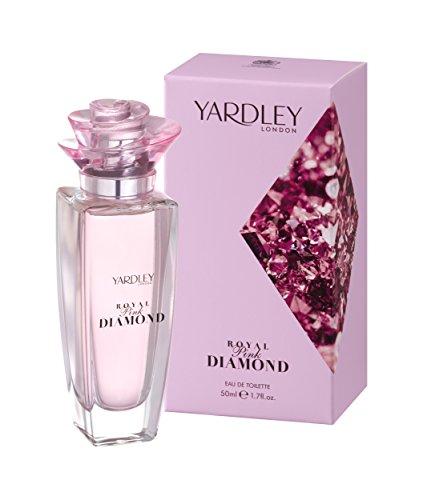 Yardley London Royal Diamant Rose Vaporisateur d'eau de toilette, 50 ml