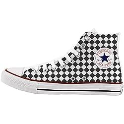 Converse Personalizados e impresos - zapatos de artesanía - Chess
